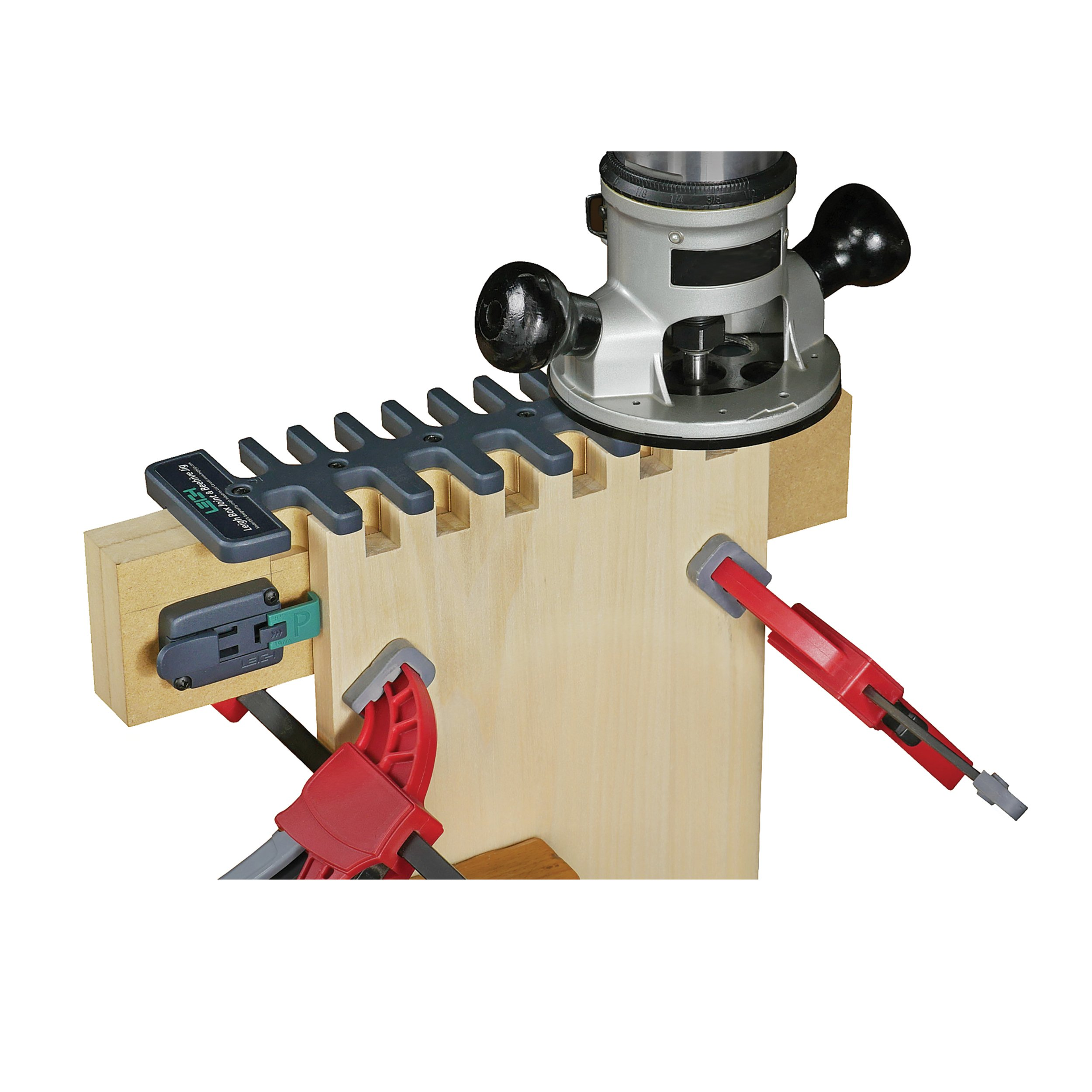 LEIGH Box Joint & Beehive Router Jig, Model B975 by Leigh
