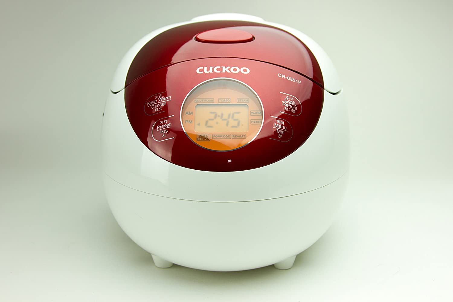 Cuckoo CR-0351FR Electric Heating Rice Cooker (Red)