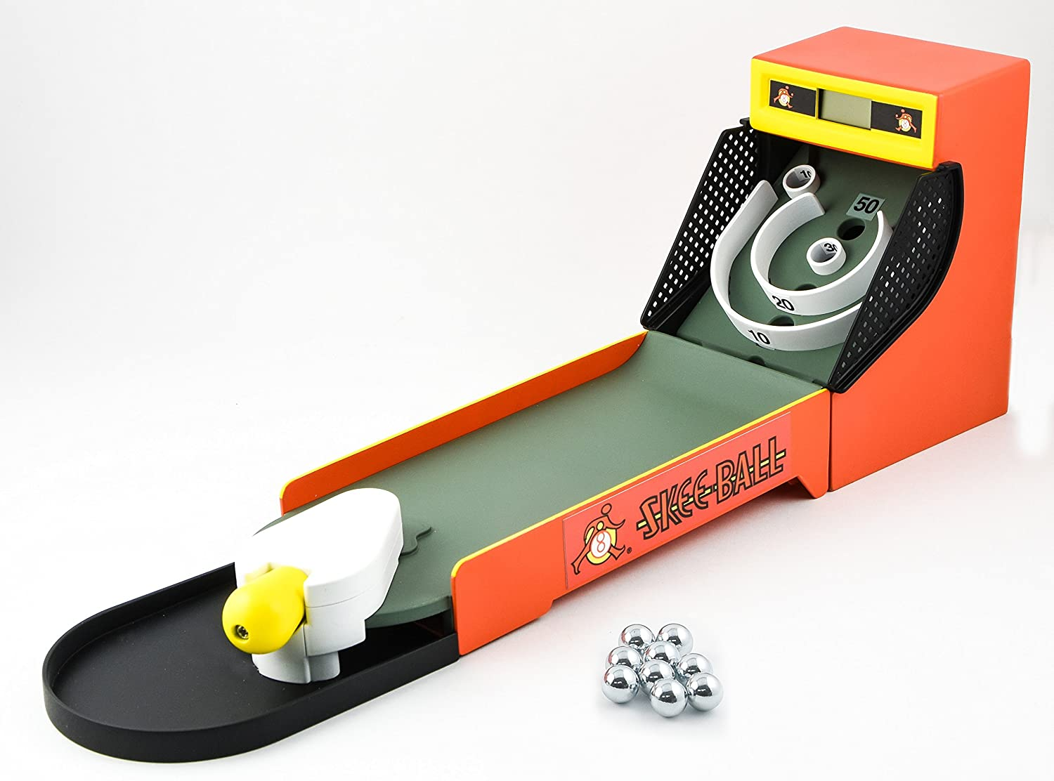 Basic Fun Skee Ball Mini Electronic Game: Toys & Games