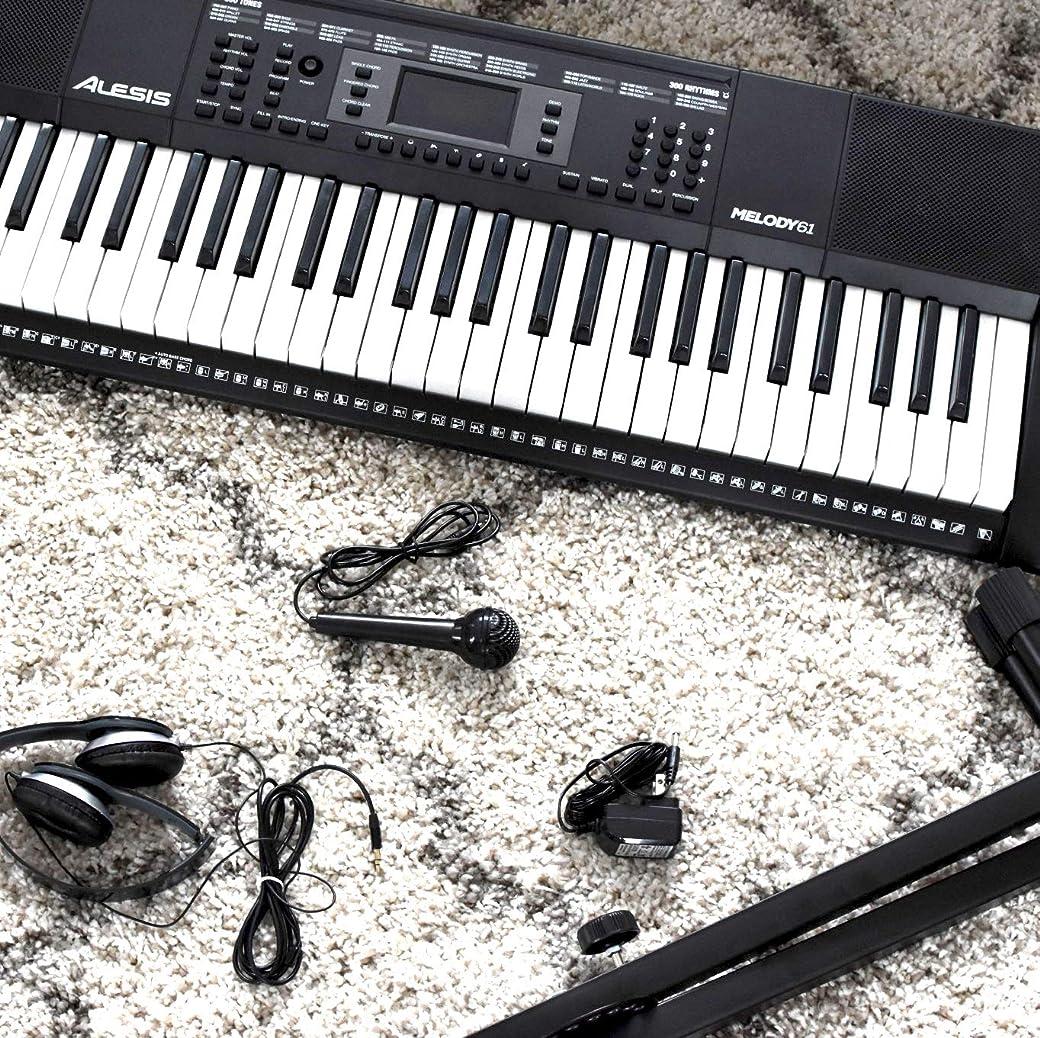 Alesis Melody 61 MKII - Teclado Electrónico Portátil con 61 Teclas