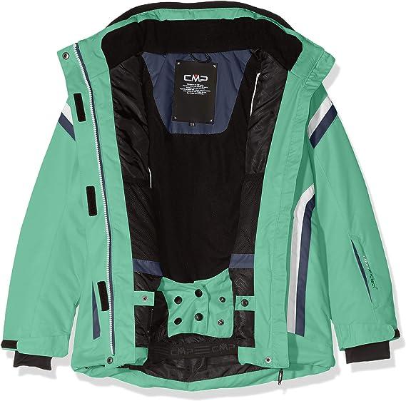 Girls CMP Girl Feel Warm Flat Set Jacket and Trousers 38W0365