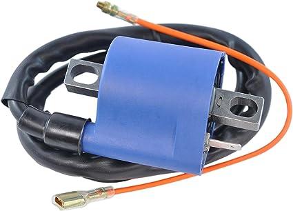 OEM Repl.# 85G-82310-M0-00 // 86B-82310-00-00 // 86B-82310-10-00 Bravo 250 BR250 Inviter 300 1989-2011 External Ignition Coil Fits Yamaha Sno Scoot 80