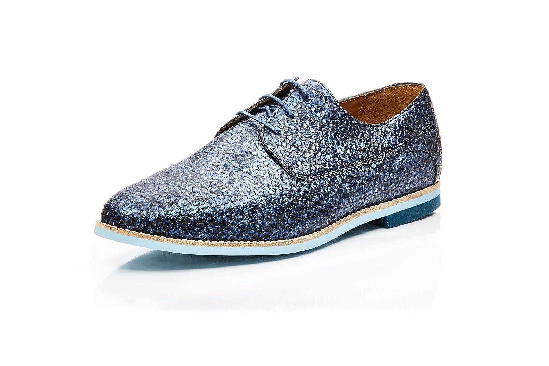 Tas Tas Tas Dillon - Zapatos de cordones de Piel Lisa para hombre azul azul eb8727