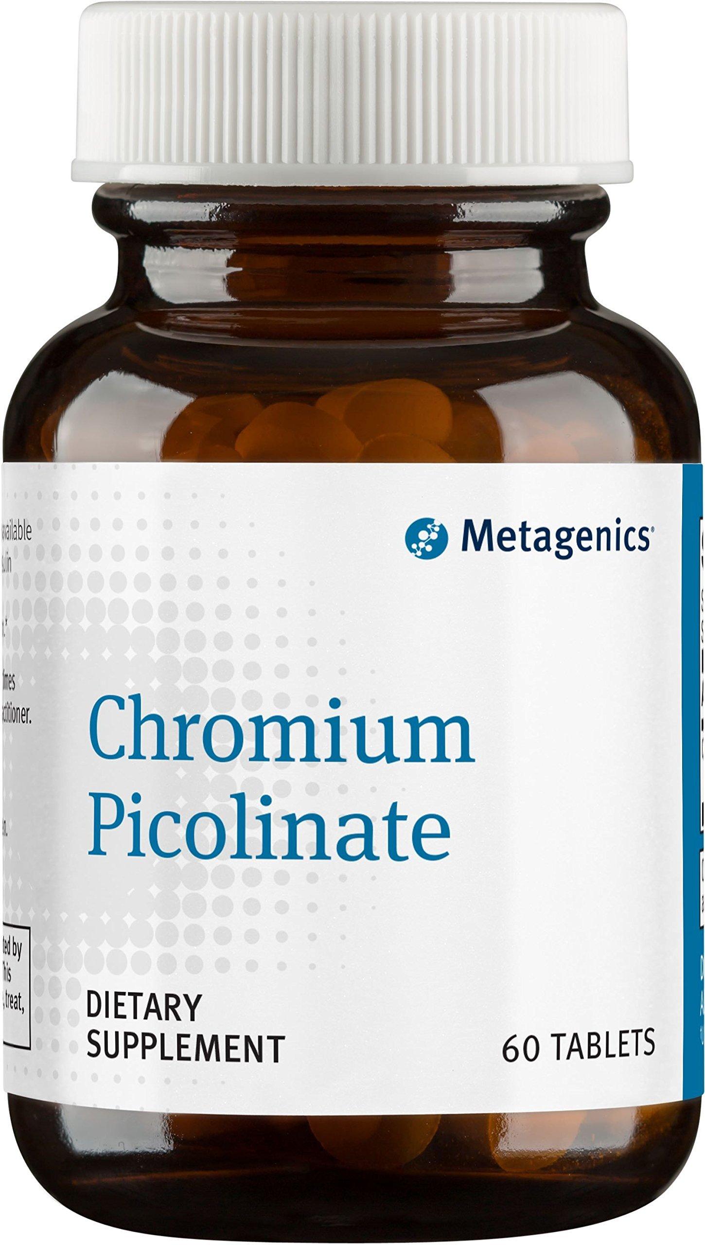 Metagenics Chromium Picolinate Tablets, 60 Count