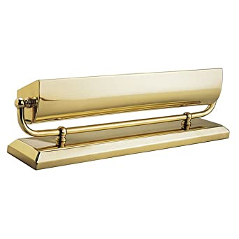 mantel lighting. house of troy ma14b 2light mantel picture light polished brass finish lighting
