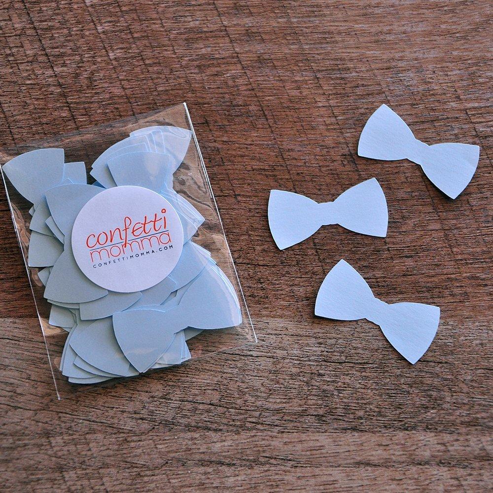 Bow Tie Confetti 2 Packs Little Man Party Decor 50CT each .