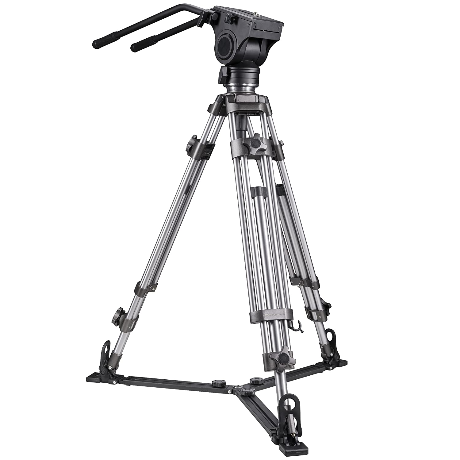 Walimex Pro Ft 9902 Video Tripod Camera Photo Weifeng Portable Stand 4 Section Aluminium Legs With Brace
