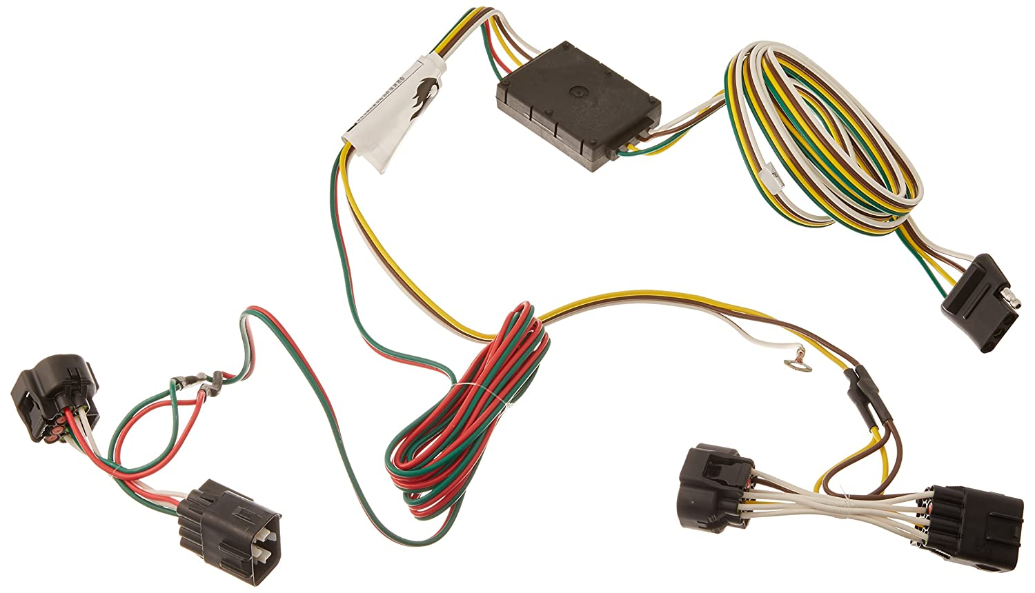 Curt 55451 Custom Wiring Harness Automotive 1996 Jeep Grand Cherokee Tow