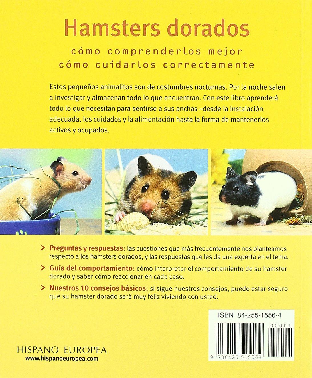 Hamsters Dorados / Gold Hamsters: Sanos y Felices / Healthy And Happy (Mascotas en Casa / Pets at Home) (Spanish Edition)
