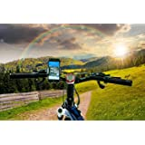 Supporto Samsung Galaxy S9Plus tutto in uno supporto Samsung S9Plus Auto Supporto S9Plus Moto Supporto S9Plus Bicicletta Supporto S9Plus tavolo supporto S9Plus bici supporto S9Plus Griglia Auto Nero