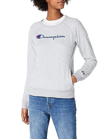 Champion Crewneck Sweatshirt-Institutionals, Sudadera para Mujer: Amazon.es: Ropa y accesorios
