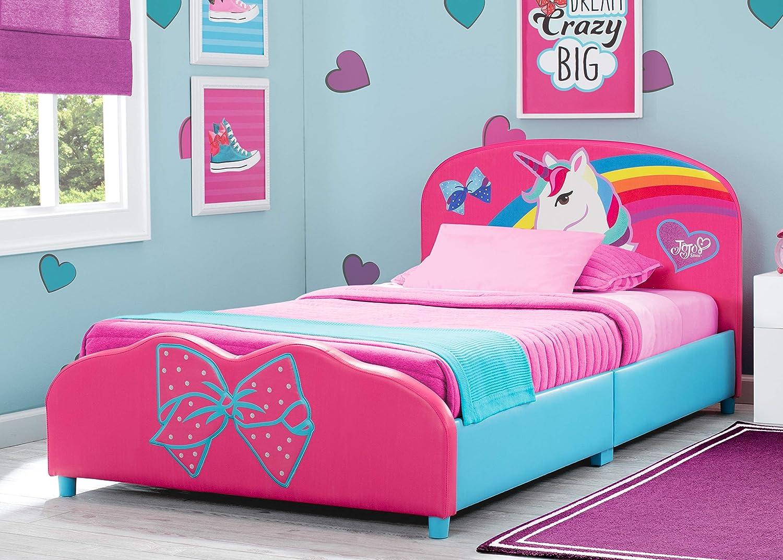 Amazon Com Delta Children Upholstered Twin Bed Jojo Siwa Baby