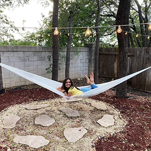 Mayan Style Hammock 100 Nylon Includes a Cotton Bag Large