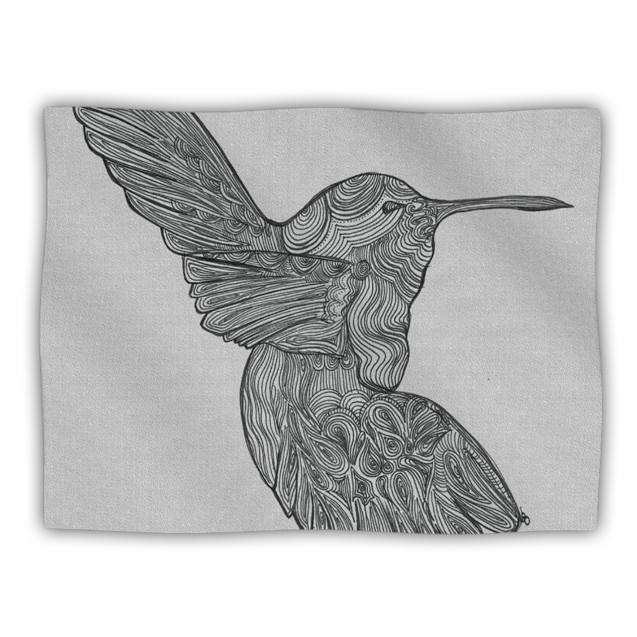 Kess InHouse Belinda Gillies Hummingbird  Pet Blanket, 40 by 30-Inch