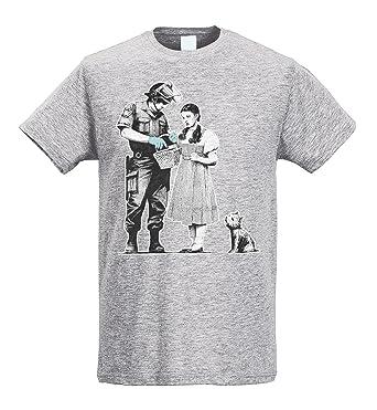Dorothy Lamaglieria Homme Slim Search Shirt Banksy Police T bgfy67