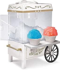 Nostalgia SCM525WH Vintage Snow Cone Maker, Ice White