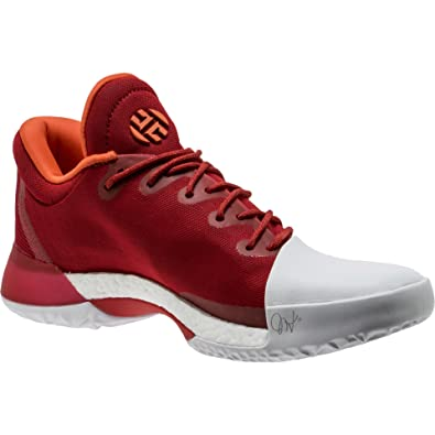 92b6db5a1e375d adidas Men s Harden Vol. 1 Basketball Shoe Scarlet Running White Size 11 ...