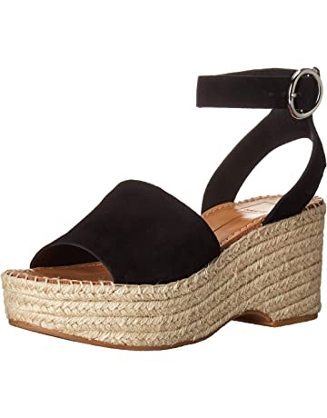 37a5264b9b2 Amazon.com  Dolce Vita Women s Lesly Espadrille Wedge Sandal Rose Suede 6 M  US  Shoes