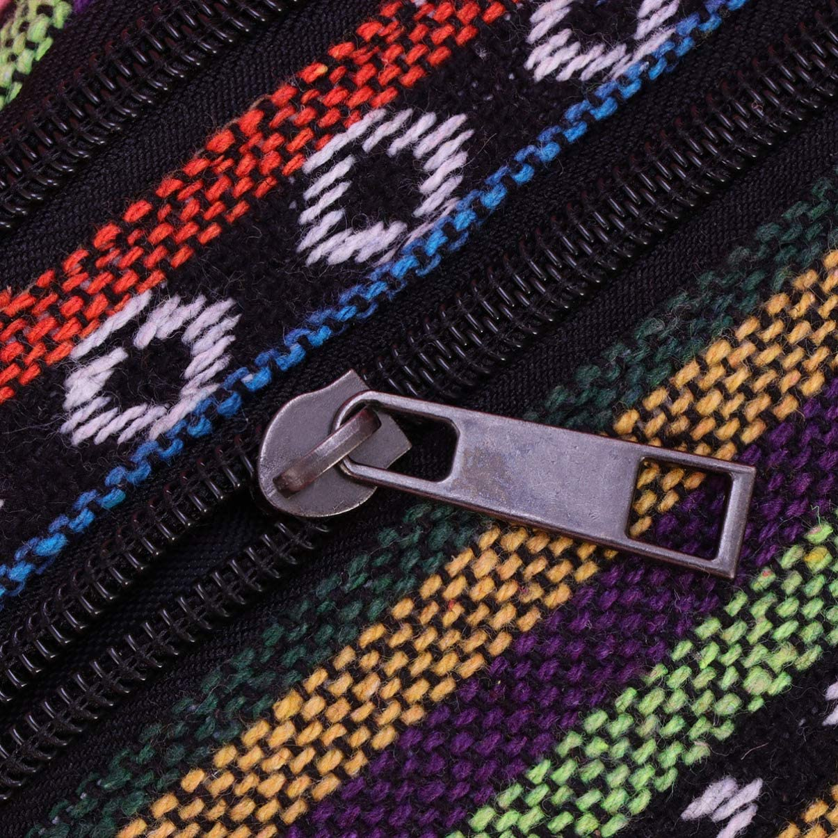 TENDYCOCO marsupio marsupio in tela stampata in stile etnico borsa tracolla cintura marsupio per donna ragazza