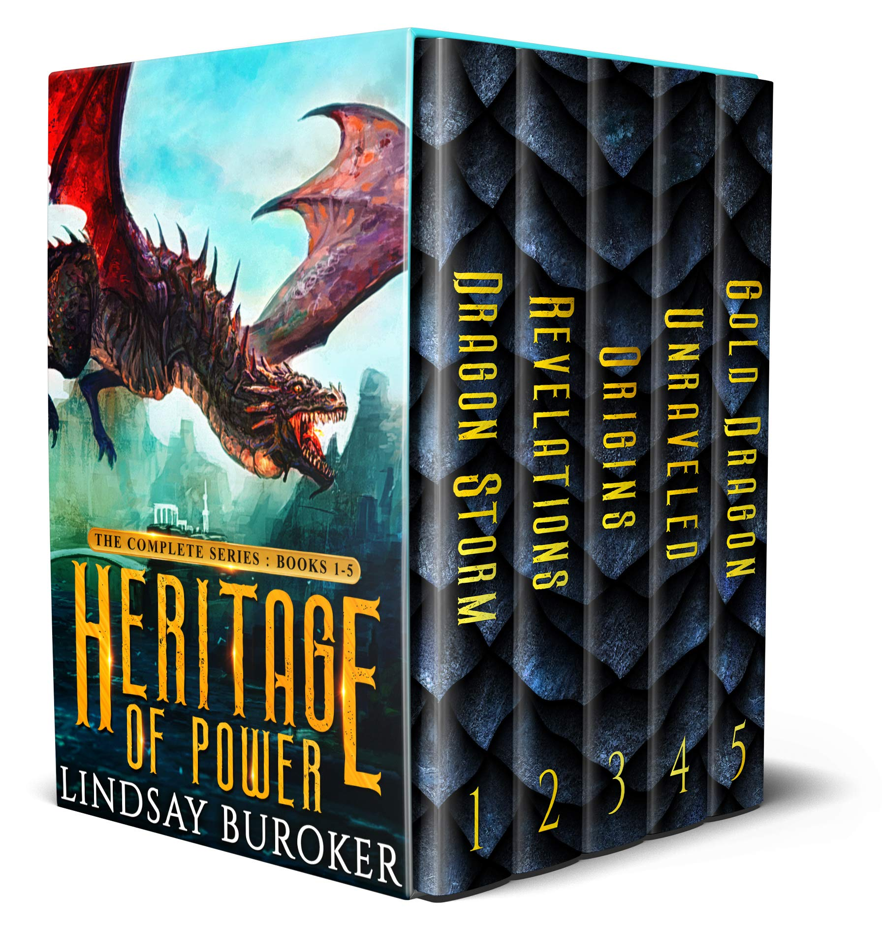 Heritage Of Power  The Complete Series  Books 1 5   An Epic Dragon Fantasy Boxed Set  English Edition