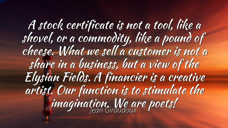 Amazon Jean Giraudoux Famous Quotes Laminated Poster Print