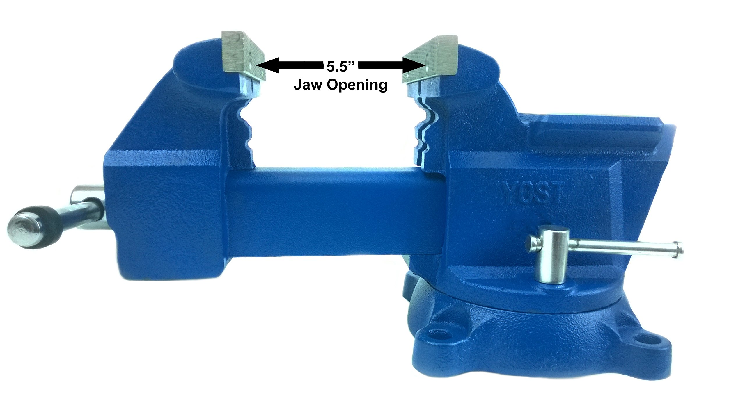 Yost Vises 465 6.5'' Combination Pipe and Bench Vise by Yost Tools (Image #3)