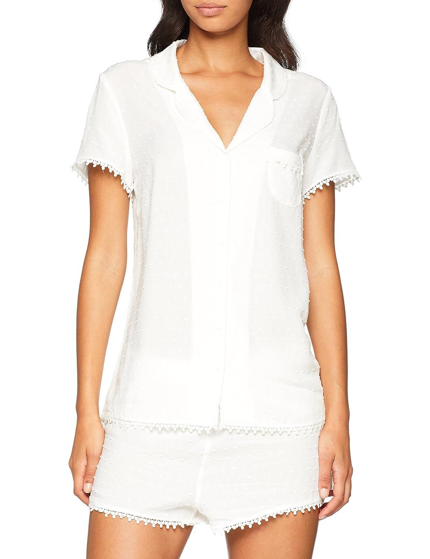 Pour Moi? Women's Siesta Short Sleeved Pyjama Top 7537