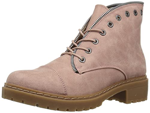 743f7be957d Qupid Women's POSTAL-01A Ankle Boot