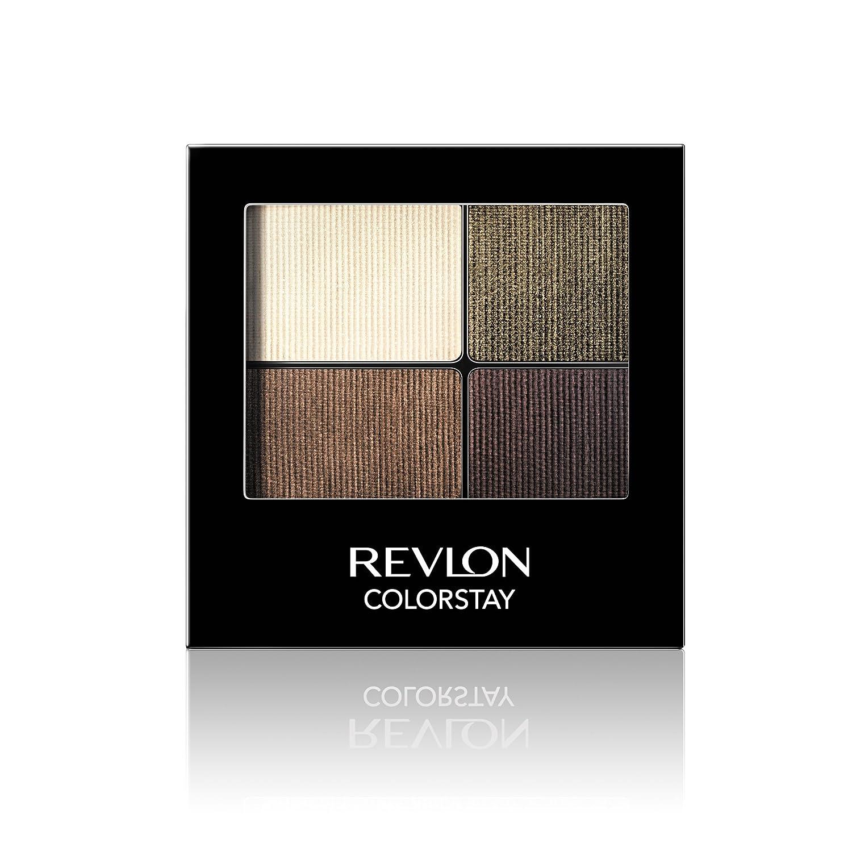 Revlon ColorStay 16 Hour Eye Shadow Quad, Decadent 7210767002