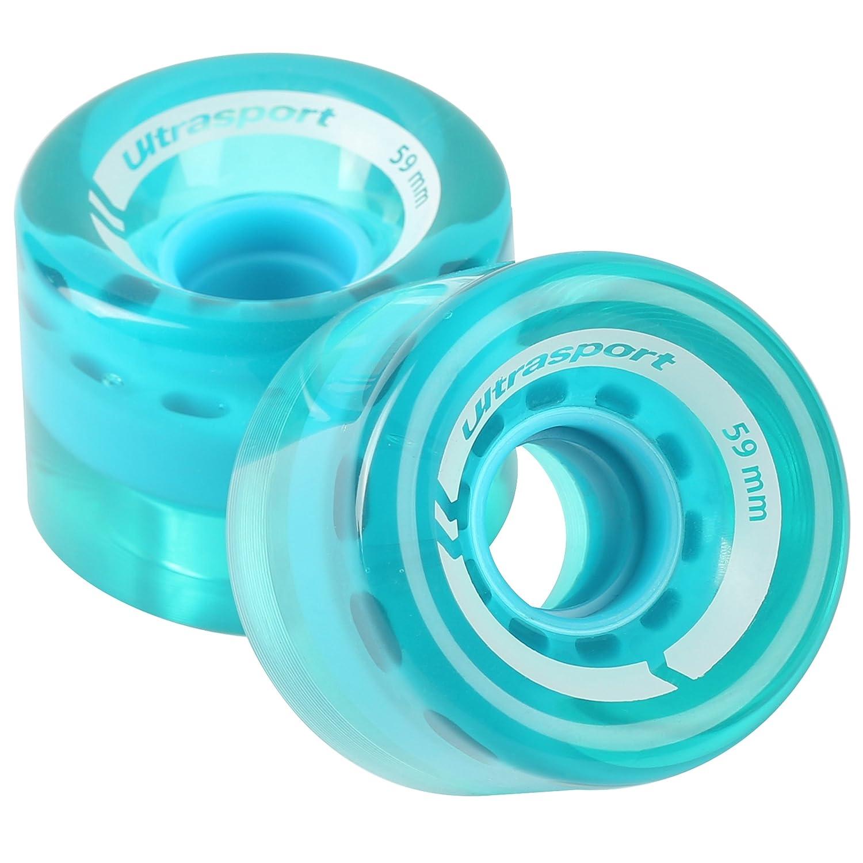 Nils Inliner Rollers Rouleaux /é Rollers Skater Lot de 4/rouleaux de rechange Transparent, 76/x 24