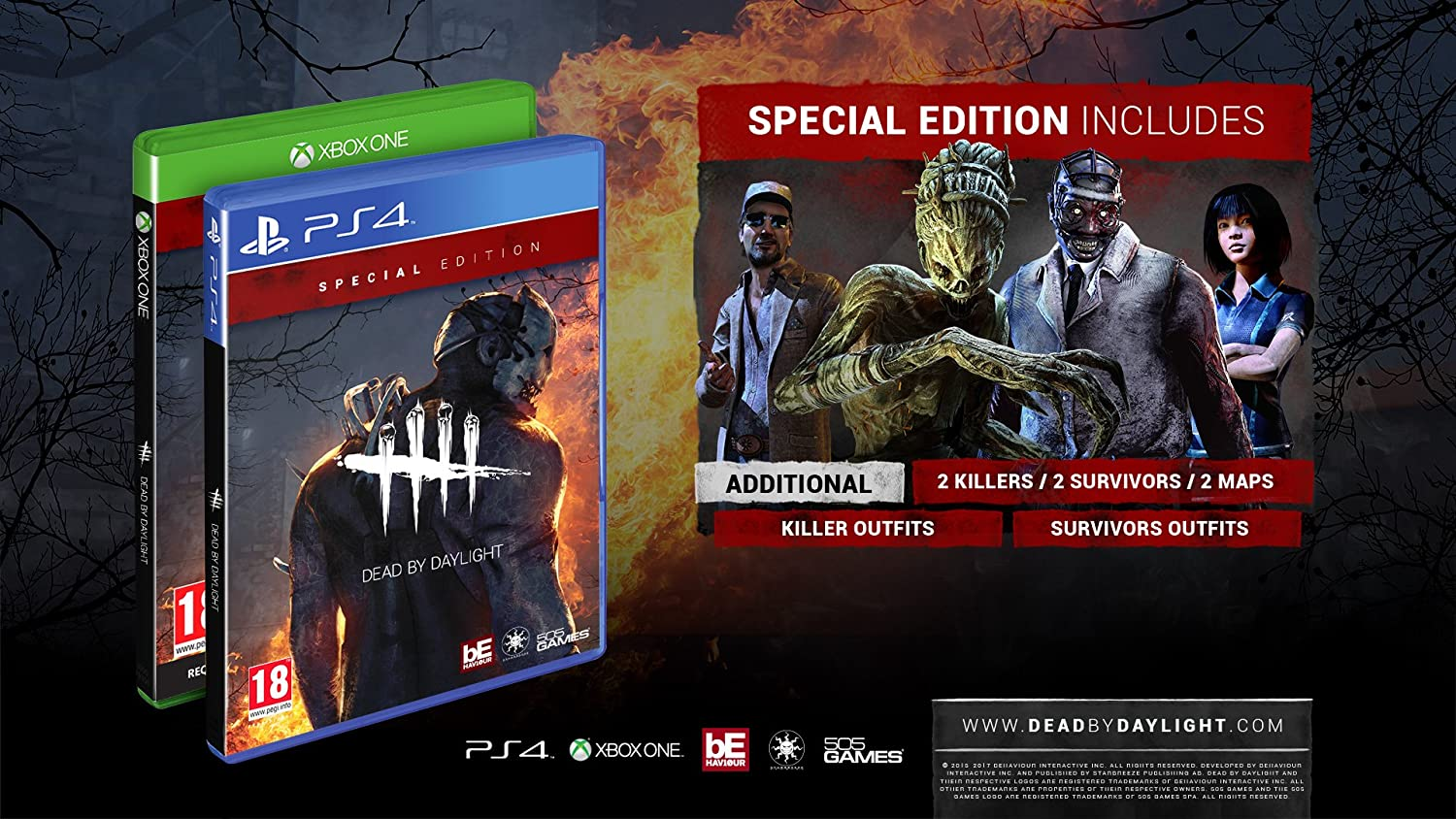 Dead by Daylight (PS4): Amazon co uk: PC & Video Games