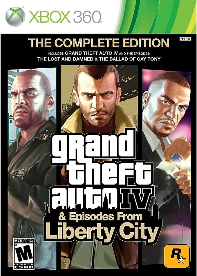 Take-Two Interactive Grand Theft Auto IV - Juego (Xbox 360, Xbox ...