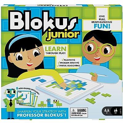 Mattel Games Blokus Junior: Toys & Games