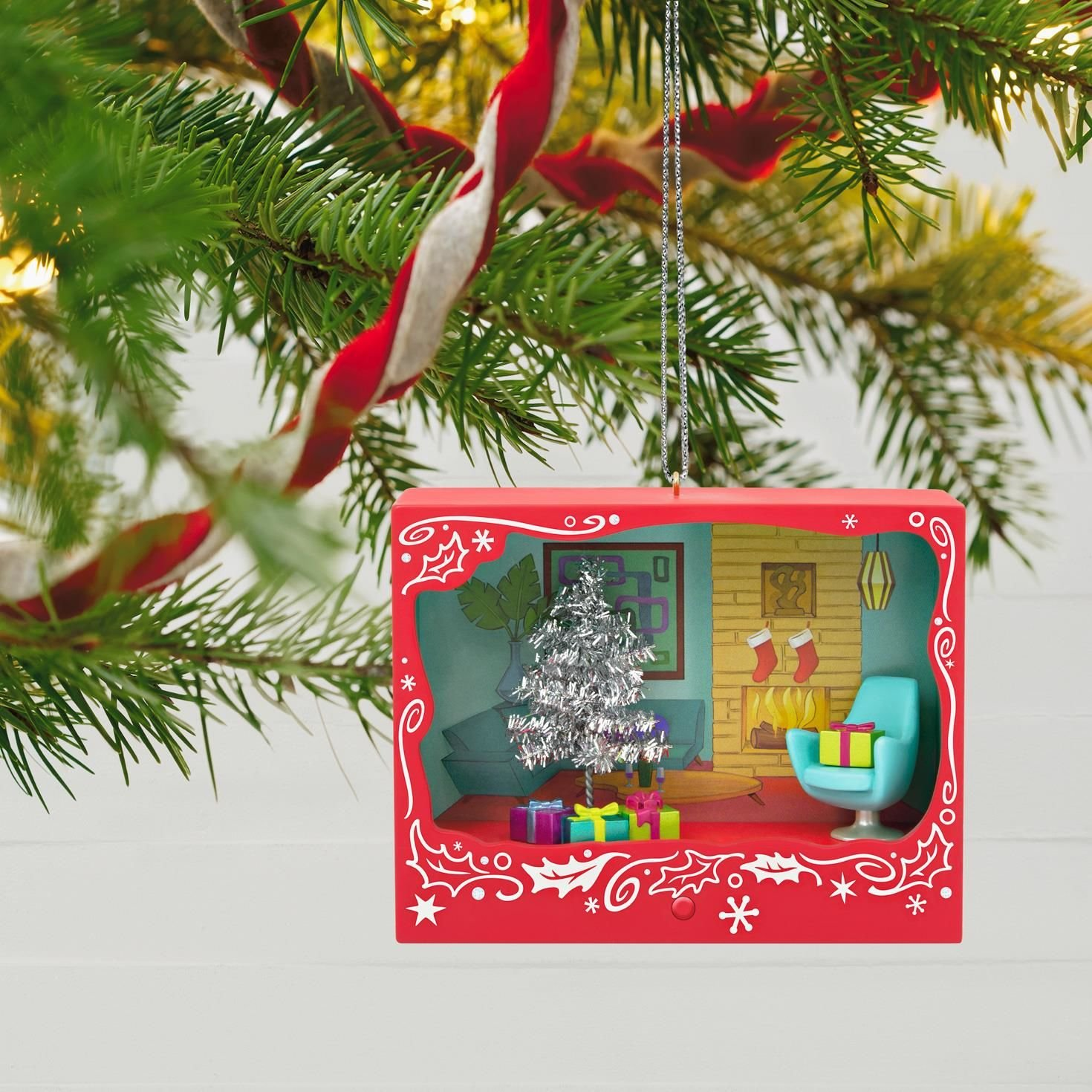 Amazon.com: Tinseltime Christmas Ornament With Light: Home & Kitchen