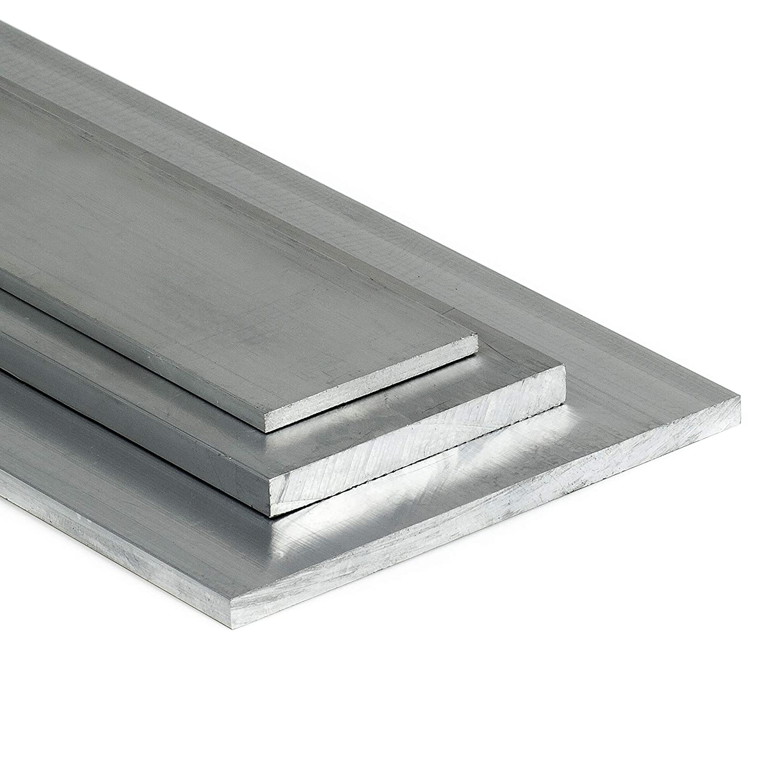 50cm auf Zuschnitt Aluminium Flachstange AlMgSi05 60x5mm L/änge 500mm