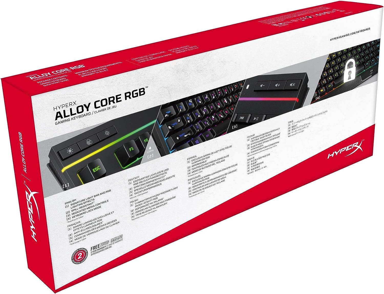 HyperX Aleación del núcleo RGB Gaming Keyboard (Teclado ...