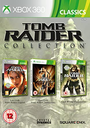 Tomb Raider Legend/Anniversary And Underworld Triplepack ...