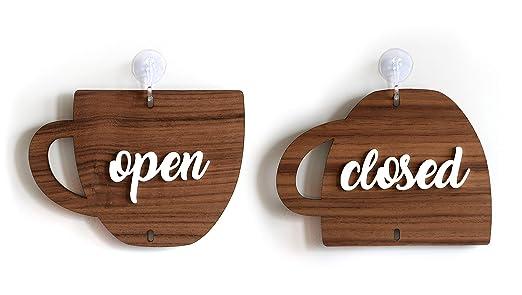 3DP Sign | Abierto Cerrado Doble Cara Cartel [OC01] - Open ...
