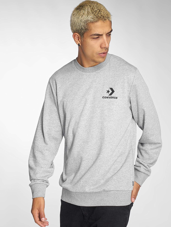 Converse sweatshirt vintage grey heather homme gris pulls