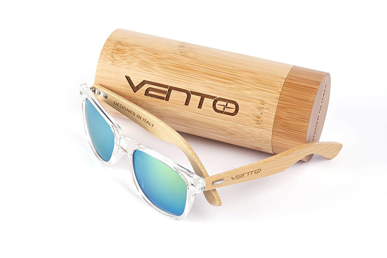 Vento Eyewear® Modelo Chinook Ice&Gold - Gafas de Sol de...