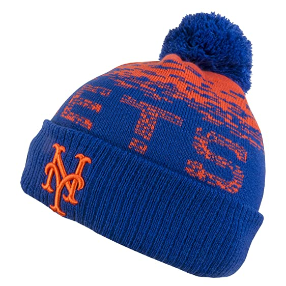 innovative design 271ab ceba9 ... low cost new era mlb sport knit new york mets bobble beanie hat o s  2d804 0e9f0