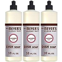 Mrs. Meyer's Clean Day Liquid Dish Soap, Cruelty Free Formula, Lavender Scent, 16...