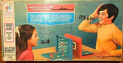 Amazon Com Battleship 1971 Edition Board Game Toys Games