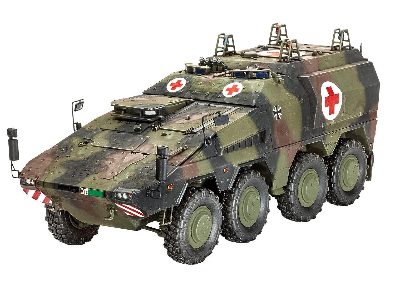 Revell 03241 Modellbausatz Panzer 1:35 - GTK Boxer sgSanKfz im Maßstab 1:35, Level 4, originalgetreue Nachbildung mit vielen Details RG3241