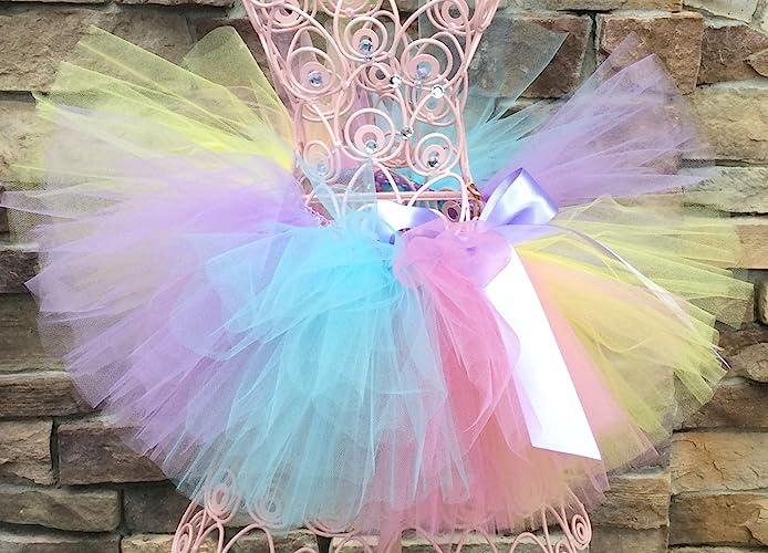 d4253e01e2e1 Amazon.com: Rainbow Baby Tutu, Pastel Rainbow Tutu, Baby Tutu, Toddler Tutus,  Birthday Tutu, Infant Tutu, Girls Tutu, Photo Prop Tutu, Newborn Tutu: ...