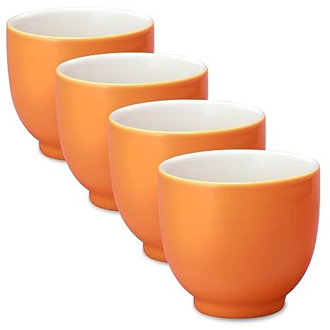 Amazon.com: Forlife Q taza de té (juego de 4), Carrot ...