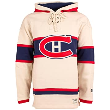 8fc42ce70c2 Montreal Canadiens Vintage Lacer Heavyweight Pullover Hoodie - Size Large