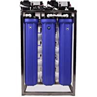 Remino® 50 LPH Commercial RO Water Purifier Plant/Filter Stainless Steel with Autoshut off and TDS adjuster (50 litre)