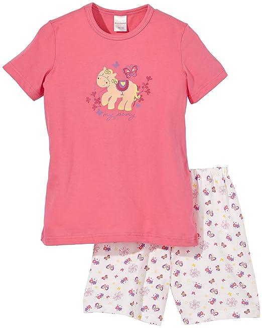 Schiesser - Pijama de dos piezas de manga corta para niña, talla 10 años (
