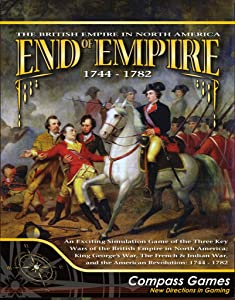 CPS: End of Empire 1744-1782, the British Empire in North America, Board Game